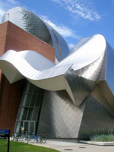 Frank Gehry's Peter B. Lewis Bld., Cleveland Ohio