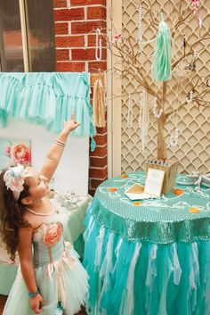 {Under the Sea} Gorgeous Mermaid Birthday Party