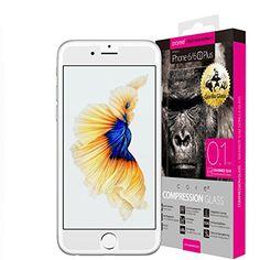 araree iPhone 6 Plus, Plus Glass Screen Protector, [CORE Compression Glass] Ultra Super Thin Hard Coating Tempered Glass Screen Protector for Apple Apple Iphone 6s Plus, Tempered Glass Screen Protector, Core, Amazon, Amazons, Riding Habit
