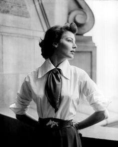 Ava Gadner by Arnold Newman