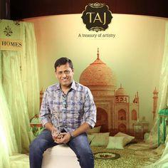 Ar.Prakash Khetwani at Taj Santacruz #TajCollection #LaunchParty #HomesFurnishings #HomeDecor #HomeFabricCollection