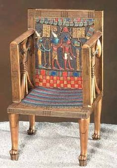 Throne of hetepheres Queen Hetepheres was mother of the Pharaoh Khufu, who commissioned the construction of the Great Pyramid at Giza, and lived over years ago. Ancient Egyptian Art, Ancient History, Egyptian Queen, Egyptian Furniture, Egypt Art, Visit Egypt, Ancient Artifacts, Ancient Civilizations, Archaeology