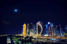 Good Night #Doha #Qatar @kareem_dadream_photography  Like  Comment  Tag  TAG YOUR Awesome Photos  #Qatarism