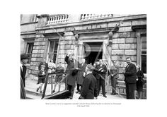 Seán Lemass waves to supporters outside Leinster House following his re-election as Taoiseach. 11th April 196 See more photos like this at www.irishphotoarchive.ie #vintage #oldphotos #blackandwhite #film #artistic #finearts #ireland #irishhistory #historyphoto #history Fine Art Photo, Photo Art, History Photos, Photo Archive, More Photos, Ireland, Irish, Fine Art Prints, Politics