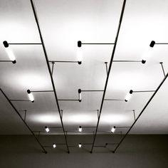 Architecture of Doom Track Lighting Fixtures, Office Lighting, Interior Lighting, Lighting Design, Light Fixtures, Gallery Lighting, Loft Lighting, Bauhaus Interior, Bauhaus Furniture