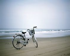 Love Bicycles On The Beach