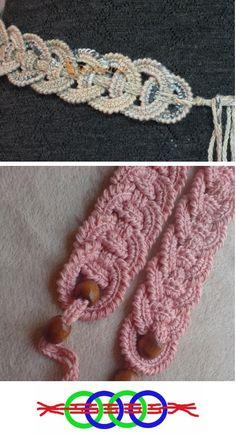 Patrones Crochet: Circulos de Crochet Entrelazados