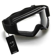 CARCHET V750 Off-Road Windproof Clear Lenses Black Blue Orange Motocross Glasses and Goggles - High quality PC lens, anti wind/sand/dust, anti-scratch, shock resistant, High quality rubber-made goggles frame, soft and comfortable, elastic so that it will not be out of shape or broken. 100% pure cotton elastic strap safely clings to your face, making you feel comfortable.
