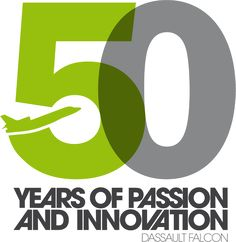 50 Years of Passion and Innovation - Dassault Falcon Business Anniversary Ideas, 14 Year Anniversary, 50th Anniversary Logo, Company Anniversary, Brochure Inspiration, Logo Design Inspiration, Aviation Logo, Aviation News, Logo Design Competition