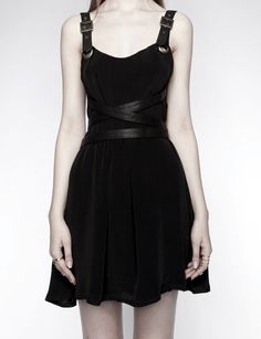 darkified black dress - love the detail
