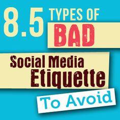 8.5 Lessons In Social Media Etiquette For Business