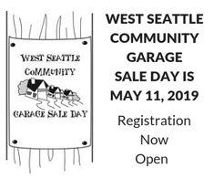 West Seattle Garage Sale 2019
