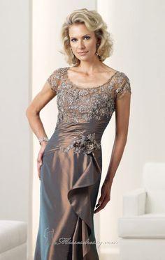 Mon Cheri 112922 Dress - MissesDressy.com Available in Sapphire