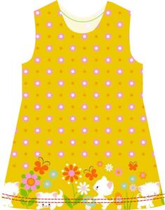 Small Dreamfactory - free sewing patterns and tutorials: Free sewing tutorial and sewing pattern girls summer dress Sewing Patterns Girls, Little Girl Dress Patterns, Dress Sewing Tutorials, Toddler Dress Patterns, Little Girl Dresses, Sewing For Kids, Free Sewing, Clothing Patterns, Sewing Techniques
