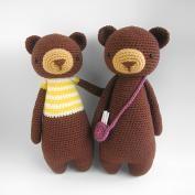 "Bella the Little Teddy Bear ""Little Explorer Series"" amigurumi pattern - Amigurumipatterns.net"