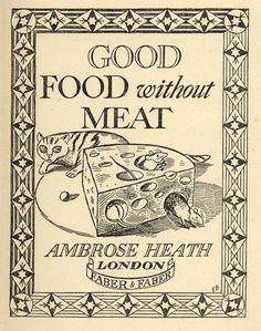 Ambrose Heath Cooking Series: Illustrator - Edward Bawden