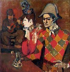"PHOTO CREDITS: ""Au Lapin Agile"" Pablo Picasso, Metropolitan Museum ..."