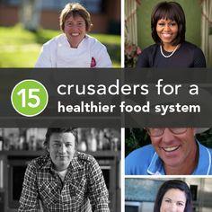 Top 15 Crusaders for Health in America's Food Industry   Greatist