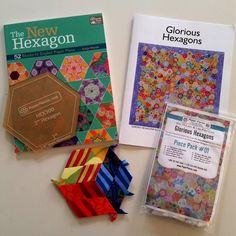 Glorious Hexagons Quilt-A-Long in 2016