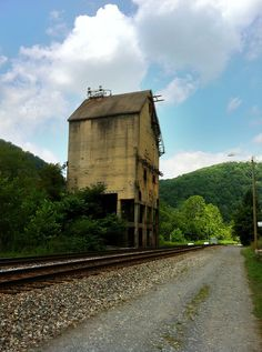 Coal Tower in Thurmond WV