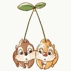 The cutest thing I've ever seen! Chip and Dale Wallpaper Iphone Cute, Disney Wallpaper, Cute Wallpapers, Bmax Disney, Disney Love, Cute Disney Drawings, Disney Sketches, Disney Tattoos, Tic Et Tac Disney