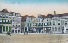 Groote Markt omstreeks 1902