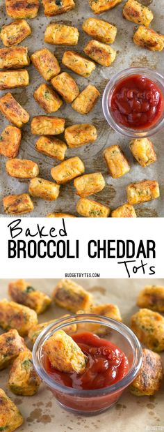 #ad by @bordencheese These Baked Broccoli Cheddar Tots are a fun, easy, and delicious way to turn leftover mashed potatoes into a new meal. BudgetBytes.com