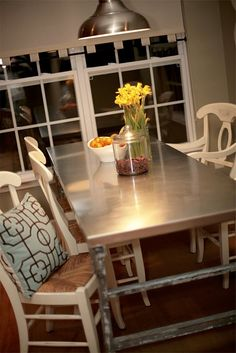 Stainless Steel properties such as Easy to Clean, Heat Resistant, and Stain Resistant make it a popular choice. http://www.frigodesign.com/