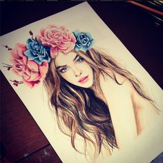 hair art images, image search, & inspiration to browse every day. Amazing Drawings, Cool Drawings, Amazing Art, Awesome, Freedom Tattoo, Instagram Look, Design Creation, Kristina Webb, Plant Drawing