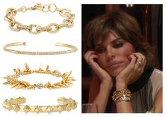 Lisa Rinna's Stella & Dot Bracelets on the RHOBH in Amsterdam