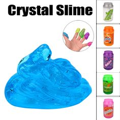 Humor Toys For Children Intelligence Education Slime Beautiful Color Cloud Slime Putty Scented Stress Kids Clay Toy Jan 25 Toys & Hobbies