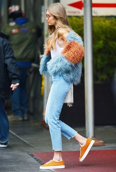It girls are borrowing from the boys more than ever—demonstrating their knack for reworking the top men's fashion week trends into their own stylings.