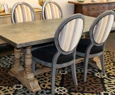 Custom Made Queen Ann Chair (Floor Model)