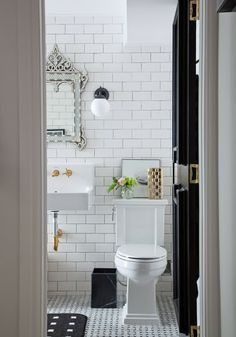 Would it be inappropriate to do every room in my future home in white subway tile?