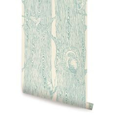 Forest Mint peel & stick fabric wallpaper. This re-positionable wallpaper is designed and made in our studios in New Jersey. The designs are printed