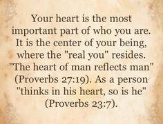 Proverbs 27:19 <3