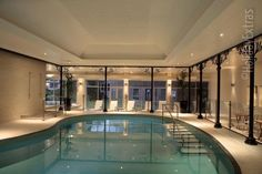 The luxurious pool at the Gatwick Felbridge