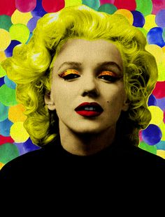 Arte: Miss Marilyn 2 Artista: Ana Paula Hoppe