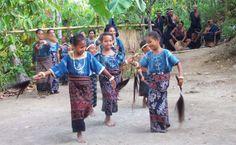 Watublapi Traditional Ikat Weaving of Sikka East of Maumere Flores Island -East Nusa Tenggara - Indonesia