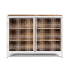 CLATRI II Kommode / Sideboard / Weiß / White - NOTORIA