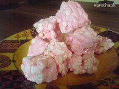Marshmallowé burizóny - recept | Varecha.sk Marshmallow, Sweet Recipes, Ice Cream, Desserts, Food, No Churn Ice Cream, Tailgate Desserts, Deserts, Icecream Craft