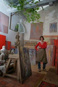 Isabelle Melchior - In the Studio