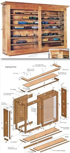 Display Case Plans - Furniture Plans and Projects | WoodArchivist.com