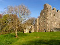Oxwich Castle, Gower Peninsula, South Wales | United Kingdom