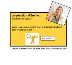 La Question d'Emilie...