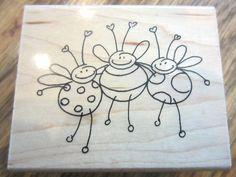 Stampendous Bee Trio