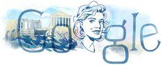 Google brengt hommage aan Melina Mercouri