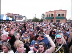 Every Friday night in the summer there is a free concert at the Cheyenne Depot Plaza, and everyone comes out to party!  http://www.cheyenne.org/