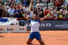 Top seed Rafael Nadal won the Hamburg claycourt title on Sunday gaining a much-needed confidence boost after a slump in form beating Italian eighth seed Fabio Fognini 7-5 7-5.  Nadal had been beaten twice previously this season by the experienced Fognini in Rio de Janeiro and then in Barcelona.  But he gained his revenge in the northern German city recovering from being broken in the very first game of a tight opening set and eventually clinching the title on his first match point after more…