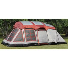 Texsport Big Horn Three-room Family Cabin Tent - sleeps up to 6 people.<----this is awesome!!!